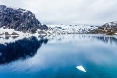 Djupvatnet See, Norwegen Lizenzfreies Stockbild