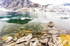Djupvatnet See, Norwegen Lizenzfreie Stockfotos