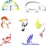 djur 1 Royaltyfri Illustrationer