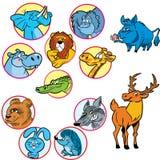 djur Arkivbild