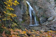 Djur-djur waterfall in autumn Royalty Free Stock Images