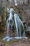 Djur-Djur waterfall in cold season Stock Photos
