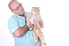 djur doktor Fotografering för Bildbyråer