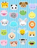 djur etikett Fotografering för Bildbyråer