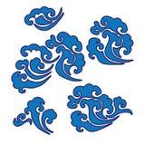 Djur för illustration för abstrakt begrepp för design för tecknad film för symbol för fä för natur för bikryphöns Royaltyfri Foto
