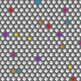 Djur fotspårmodell Tafsa tryck textur vektor Arkivbilder