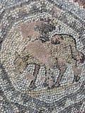 djur mosaik arkivfoto