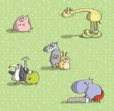 Djur som har gyckel No.3 Arkivbild
