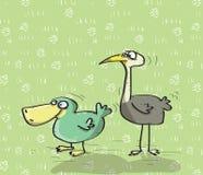 Djur som har gyckel No.15 vektor illustrationer