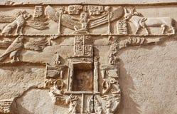 djur som snider väggen Royaltyfri Bild