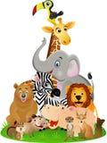 djur tecknad film Royaltyfri Bild