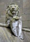 Djur vägg från Cardiff Arkivbilder