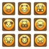 djura symboler arkivfoton