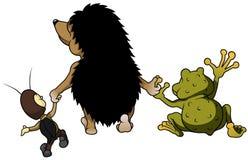 Djura vänner Arkivbild