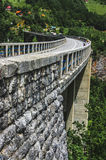 Djurdjevic Bridge. The highest bridge in Europe Royalty Free Stock Image