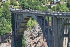 Djurdjevic& x27; s-bro Arkivbilder