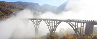 Djurdjevica Tara Bridge stock images