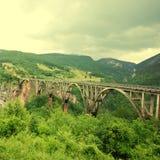 Djurdjevica Tara Bridge,Montenegro Stock Image