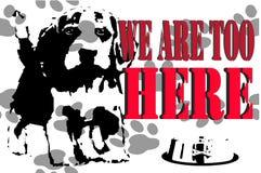 Djurens rättigheter Arkivfoton