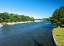 djurgarden krajobrazowego Stockholm podmiejski Sweden Zdjęcie Royalty Free