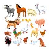 djurlantgård Arkivfoton