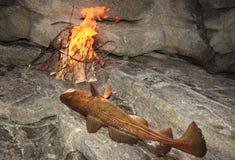 Djurlivfisketur I Norge Royaltyfri Bild