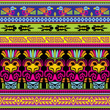 Djurmexikanbakgrund Fotografering för Bildbyråer