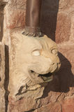 Djursymboler i archutecture Fotografering för Bildbyråer
