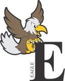Djurt alfabet Eagle arkivfoton