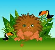 djurt roligt little som är wild Arkivbild