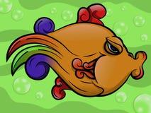 Djurt vatten- liv för fisk Royaltyfria Foton