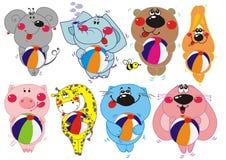 djurvektor stock illustrationer