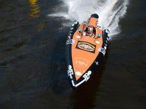 łódka mistrzostwo słowo silnika Fotografia Stock