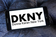 Dkny logo Royalty Free Stock Photography