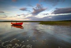 łódkowata czerwień Obraz Stock