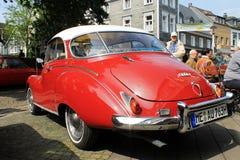 DKW oldtimer samochód w Kettwig fotografia royalty free