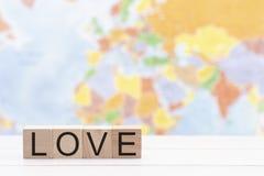 Dla boga Więc Kochający świat Pokazywać bóg afekcję dla Całego światu tło zdjęcie stock