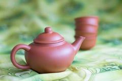 Dla herbacianej ceremonii Zdjęcie Royalty Free
