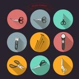 0515_1 dla krawczyny rozcięcia nożyc Obrazy Stock