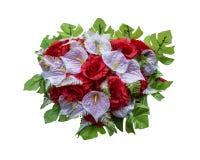 Dla ślubu sztuczni kwiaty Obrazy Royalty Free