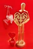 Dla mój valentine Obrazy Royalty Free