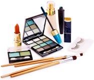 Dla makeup dekoracyjni kosmetyki. Fotografia Royalty Free