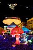Dla nowego roku kolorowe rzeźby Zdjęcia Royalty Free