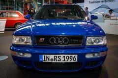 Dla początkujących luksusowy samochodowy Audi RS 2 Avant, 1995 Zdjęcie Royalty Free