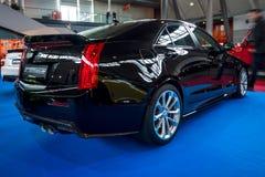 Dla początkujących luksusowy samochodowy Cadillac ATS-V, 2016 zdjęcie royalty free