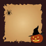 Dla projekta Halloween granica Obrazy Stock