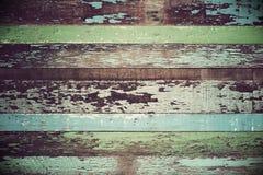 Dla Rocznik tapety drewniany materiał zdjęcia stock