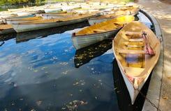 Dla Romantycznych moment łodzi Obraz Royalty Free