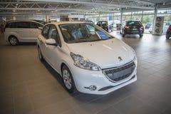 Dla sprzedaży, Peugeot 208 obrazy stock