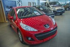 Dla sprzedaży, Peugeot 207 zdjęcia stock